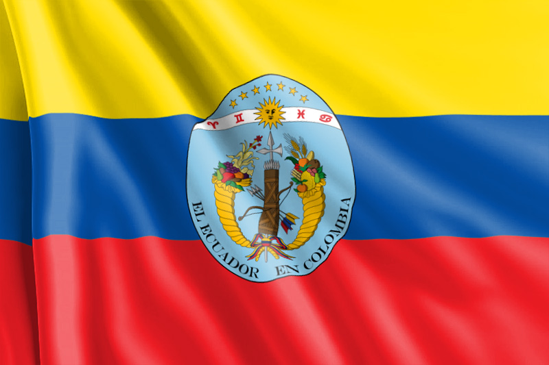 Bandera de Ecuador (1830-1835)