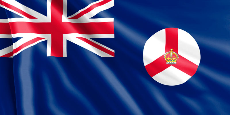 Bandera-de-la-Colonia-de-Singapur