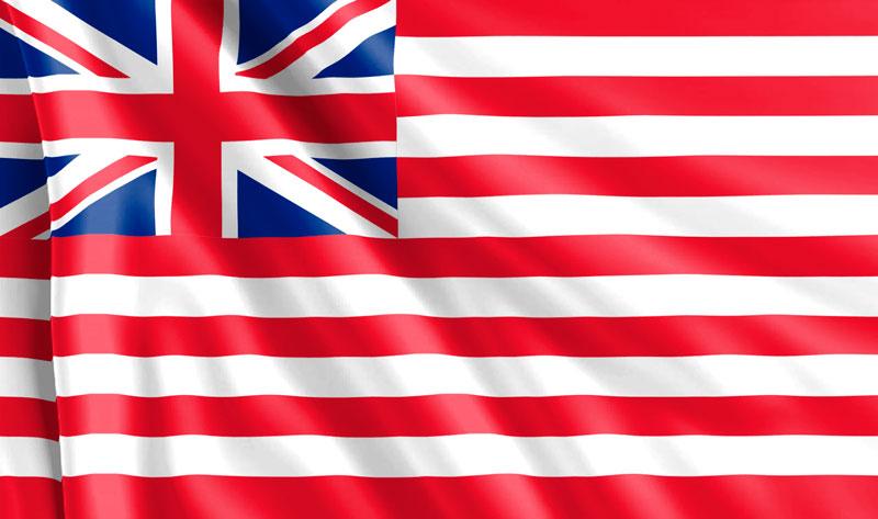Bandera-de-la-Compañía-de-las-Indias-Orientales-Británica