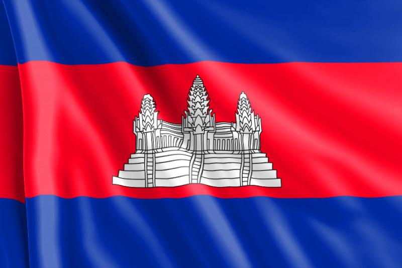 Bandera-Camboya
