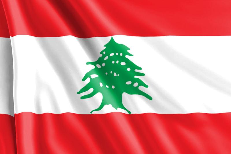 Bandera Líbano