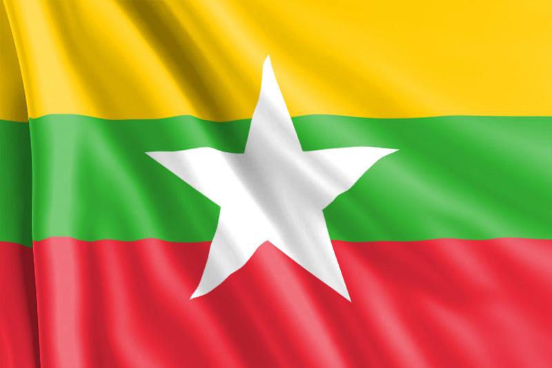 Bandera Myanmar