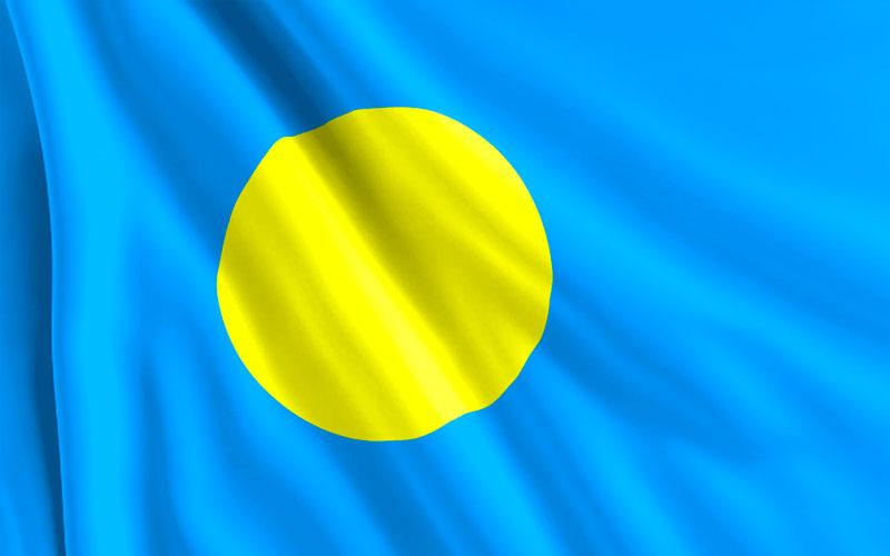 Bandera-Palaos